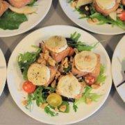 Chevre Chaud - salat med gedeost