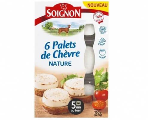 Soignon gedefriskost naturel i 6 nemme skiver 150 gram