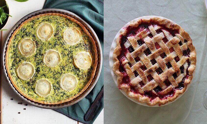 Tærter - til mad eller dessert