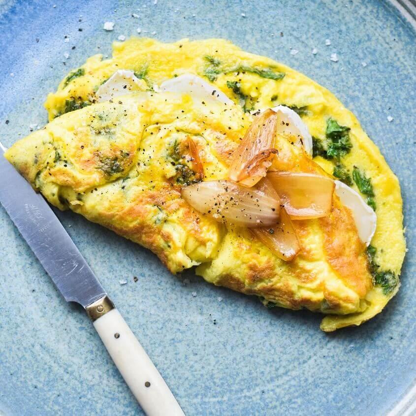 hvordan laver man omelet
